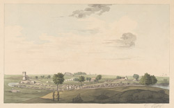View of Vallam near Tanjore. Copy of a sketch made in 1784 by Mackenzie